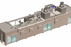 Tunnel Rack Oven System for cookie production