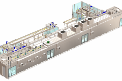 Tunnel Rack Oven System for sheeted products